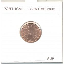 Portugal 2002 1 CENTIME SUP