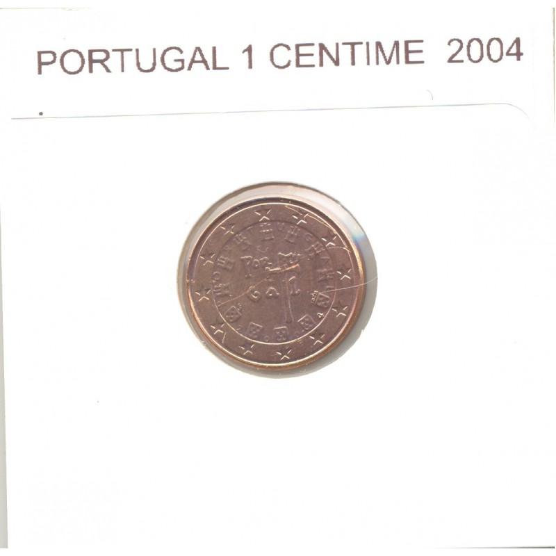 Portugal 2004 1 CENTIME SUP