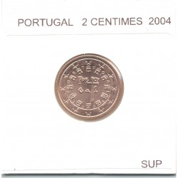 Portugal 2004 2 CENTIMES SUP