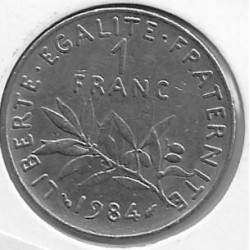 FRANCE 1 FRANC ROTY 1984 SUP-