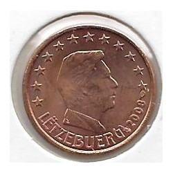 Luxembourg 2008 1 CENTIME SUP-