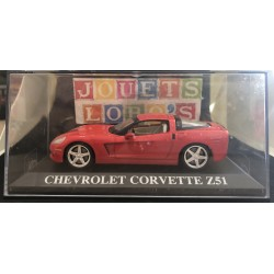 CHEVROLET CORVETTE Z51 ROUGE 1/43