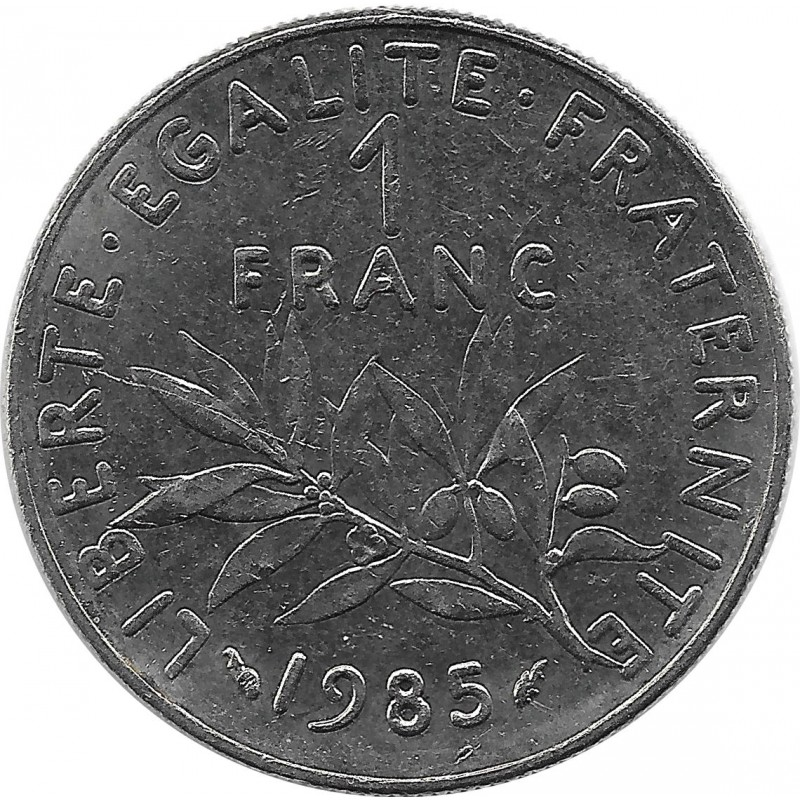 FRANCE 1 FRANC ROTY 1985 SUP