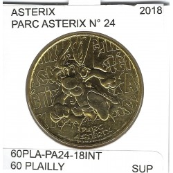 60 PLAILLY PARC ASTERIX  Numero 24 ASTERIX 2018 SUP