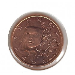 France 2010 1 CENTIME SUP