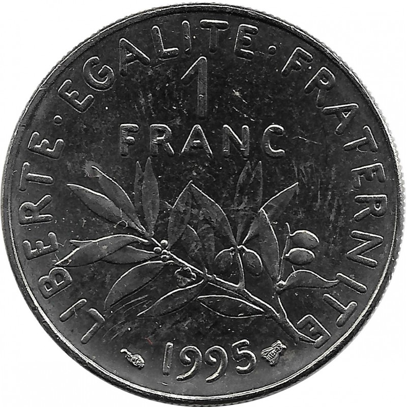 FRANCE 1 FRANC ROTY 1995 SUP