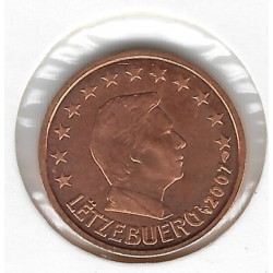 LUXEMBOURG 2001 2 CENTIMES SUP