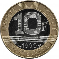 FRANCE 10 FRANCS GENIE 1999 BE