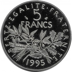 FRANCE 5 FRANCS ROTY 1995 BE