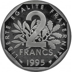 FRANCE 2 FRANCS ROTY 1995 BE