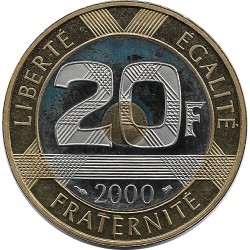 FRANCE 20 FRANCS MONT ST MICHEL 2000 BE