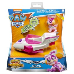 PAW PATROL MIGHTY PUPS SUPER PAWS SKYE DELUXE VEHICLE de chez SPIN MASTER NEUF