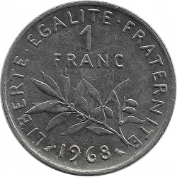FRANCE 1 FRANC ROTY 1968 SUP-