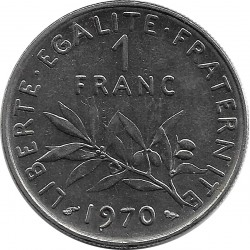 FRANCE 1 FRANC ROTY 1970 SUP
