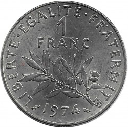FRANCE 1 FRANC ROTY 1974 SUP-