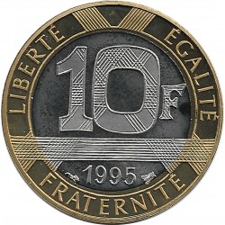 FRANCE 10 FRANCS GENIE 1995 BE