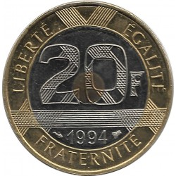 FRANCE 20 FRANCS MONT ST MICHEL 1994 BU