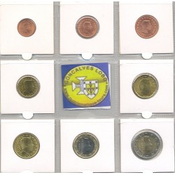 LUXEMBOURG 2006 SERIE 8 MONNAIES SUP-