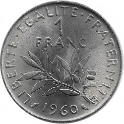 FRANCE 1 FRANC ROTY 1960 SUP-