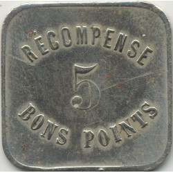 75 SEINE - PARIS 5 BON POINT RECOMPENSE TTB