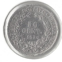 FRANCE 50 CENTIMES CERES 1850 A TB+