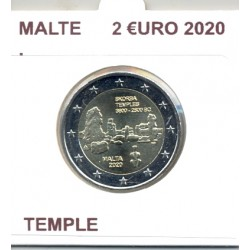 MALTE 2020 2 EURO COMMEMORATIVE TEMPLE SKORBA SUP