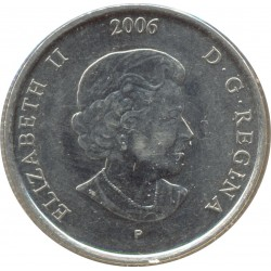 CANADA 25 CENTS 2006 SUP/NC