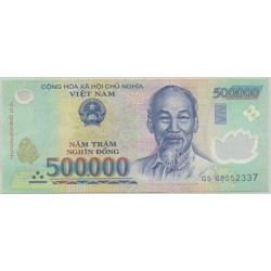 VIET NAM 500000 DONG 2008 SERIE GS SUP