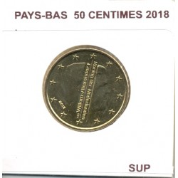 HOLLANDE ( PAYS-BAS) 2018 50 CENTIMES SUP