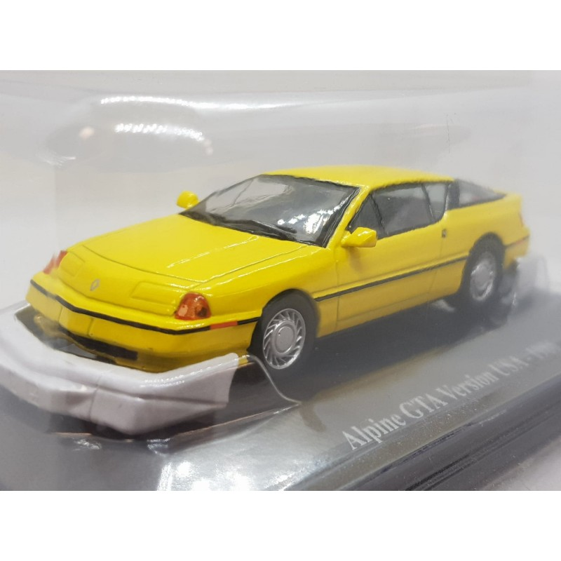 RENAULT ALPINE GTA VERSION USA 1986 1/43 BOITE D'ORIGINE