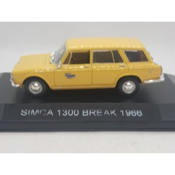 SIMCA 1300 BREAK 1966 LA POSTE 1/43 BOITE