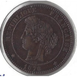 10 CENTIMES CERES 1876 A