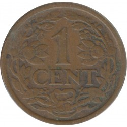 HOLLANDE 1 CENT 1926 TTB