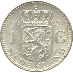 HOLLANDE 1 GULDEN 1965 TTB+