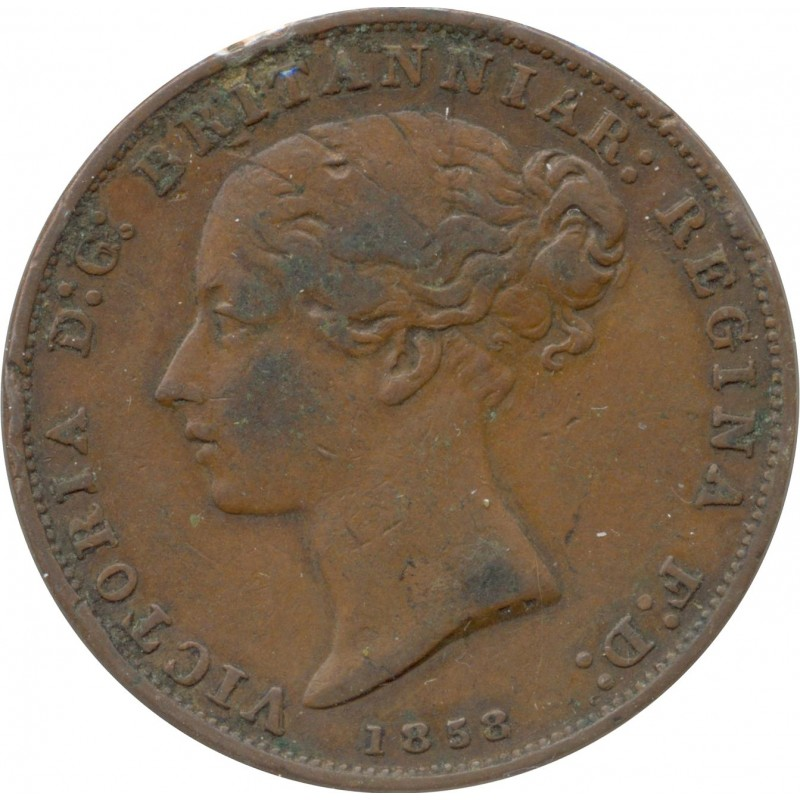 JERSEY 1/26 SHILLING VICTORIA 1858 TB+ N2