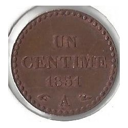1 CENTIME DUPRE 1851 A