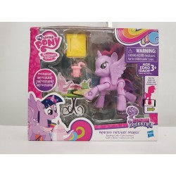 MY LITTLE PONY MON PETIT PONEY PRINCESS TWILIGHT SPARKLE de chez HASBRO emballage abimé