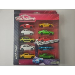 MAJORETTE GIFT PACK SERIE 3 8 VOITURES + 2 EDITION LIMITEE