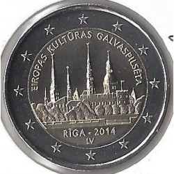 LETTONIE 2 €URO COMMEMORATIVE 2014