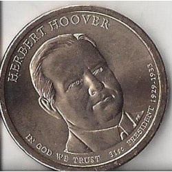 USA 1 DOLLAR HERBERT HOOVER 2014 P