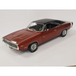 DODGE CHARGER R/T 1970 MARRON CRAVEYARD CARZ GREENLIGHT 1/18 BOITE NEUVE
